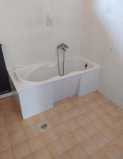 Fürdőszoba felújítás kád